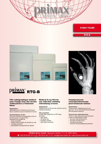 PRIMAX RTG-B