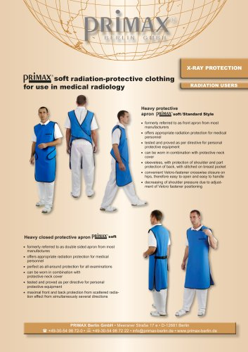 RADIATION USERS X-RAY PROTECTION