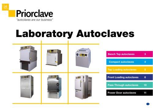 Priorclave Laboratory Autoclaves