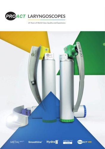 Laryngoscope Range Brochure