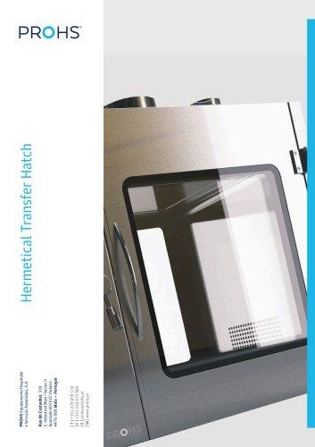 Hermetic Passbox/Hatch - UV