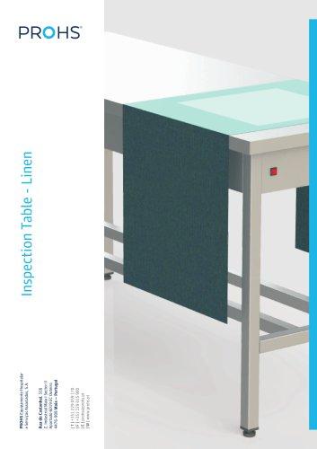 INSPECTION TABLE - LINEN