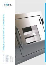 Mechanic/Electrical Transfer Hatch/Passbox