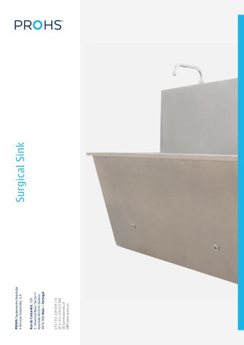 Scrub Sink - Surgical