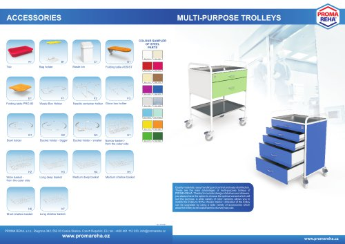 Multi-purpose trolleys