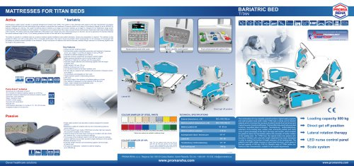 Product Catalogue - bariatric bed TITAN