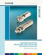 High Voltage Connectors - 1