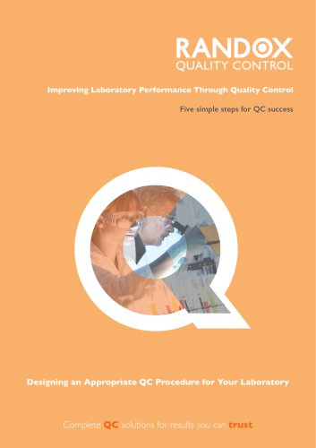 Designing an appropriate QC procedure for your lab