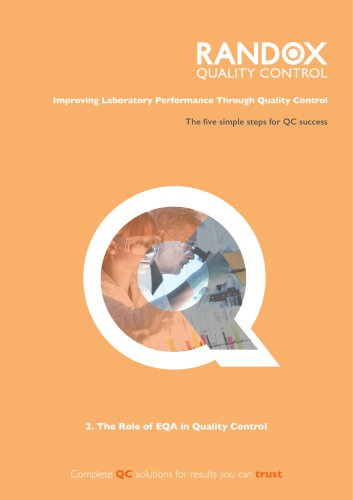 The role of EQA in QC