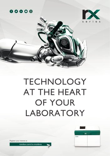 technology at the heart of your laboratory