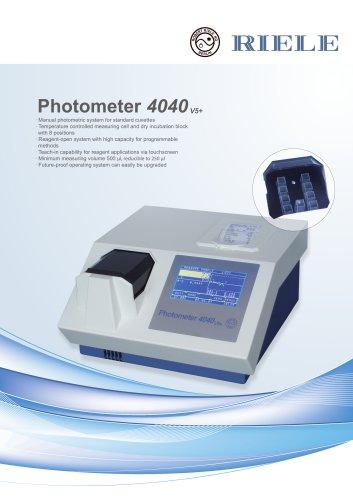 Photometer 4040 V5+