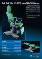 Golem ORL - ENT chair