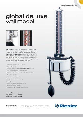 global de luxe® Wall model