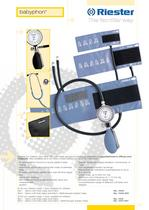Pediatric sphygmomanometer Babyphon