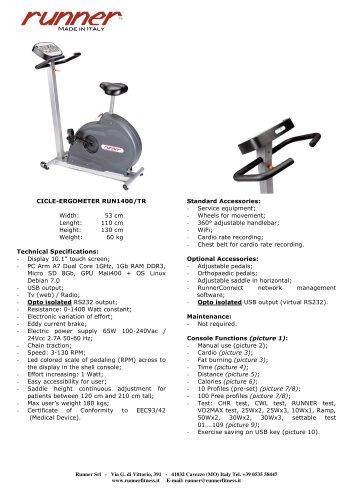 RUN-1400/T - for rehab