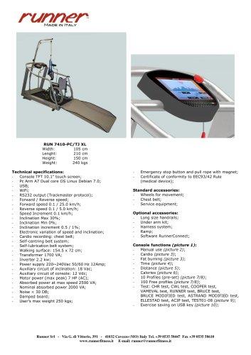 RUN 7410 - PC/ T J XL