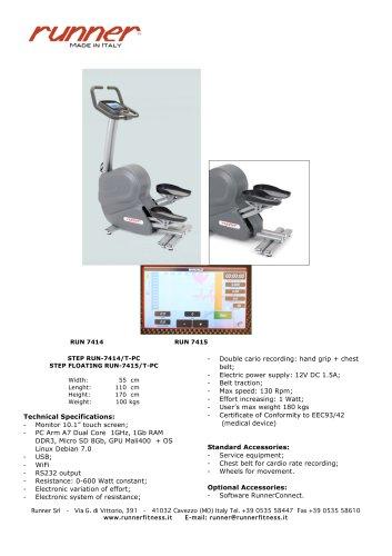 STEP RUN - 7414 /T - PC STEP FLOATING RUN - 7415/T - PC