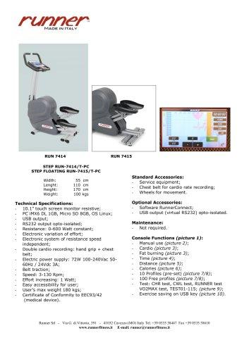 STEPRUN-7414/T-PCSTEP FLOATING RUN-7415/T-PC