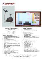 VERTICAL CYCLE ERGOMETERRUN-7409/T-PC