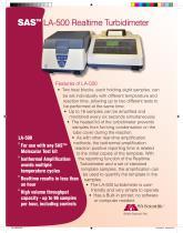 Realtime Turbidimeter (LA-500) - 1