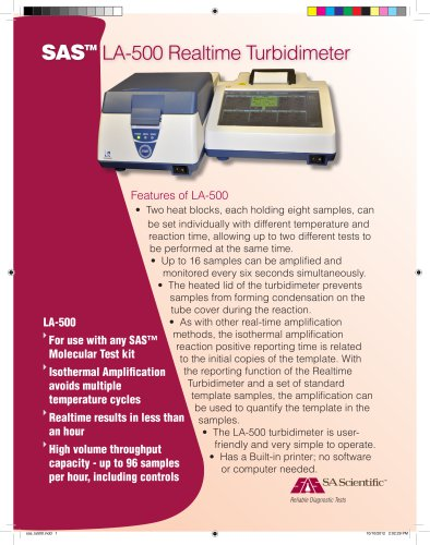Realtime Turbidimeter (LA-500)
