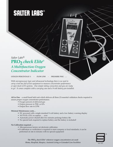 Pro2 Check Elite® SLC-10311