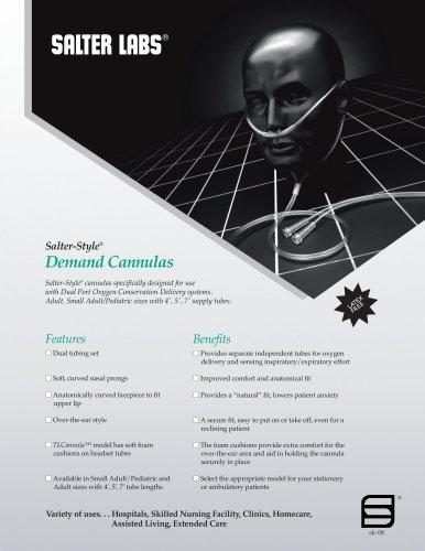 Salter-Style® Demand Cannula SLC-0811