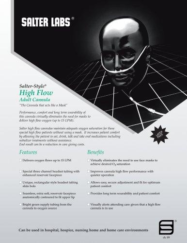 Salter-Style® High Flow Adult Cannula SLC-0911