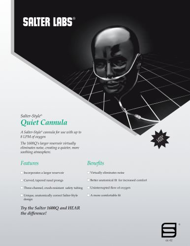 Salter-Style® Quiet Cannula SLC-0211