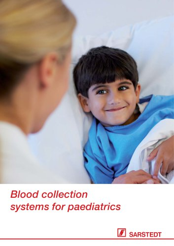 Blood collection systems for paediatrics