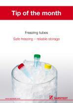 Freezing tubes - 1
