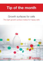 Growth surfaces for cells - 1