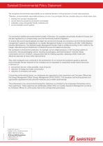 Sarstedt Environmental Policy Statement - 2