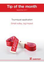 Tourniquet application - 1