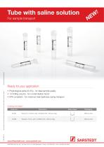 Tube with saline solution - 2