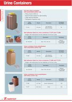 Urine Containers - 1