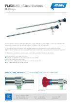 FLEXILUX II Laparoscopes