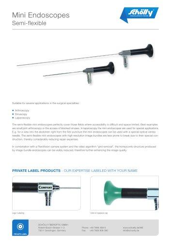 Mini Endoscopes Semi-flexible
