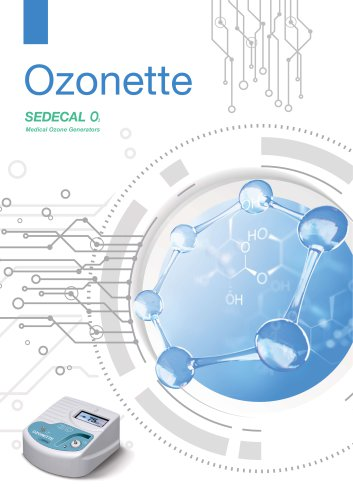 Ozonette SEDECAL Medical Ozone Generators