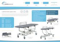 CLINNOVA Mobile Hygiene Tables - 1