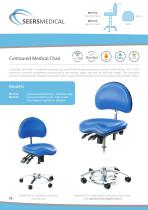 Contoured Medical Chair - 1