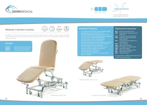 Astounding Medicare 3 Section Couch Seers Medical Pdf Catalogs Theyellowbook Wood Chair Design Ideas Theyellowbookinfo