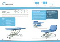 Medicare Bariatric 2 Section Couch - 1
