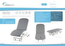 Medicare Bariatric 3 Section Couch