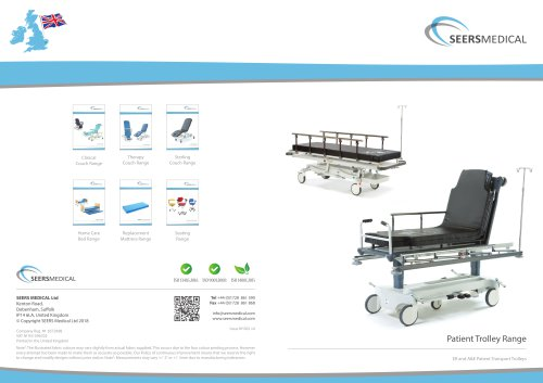 Patient Trolley Range