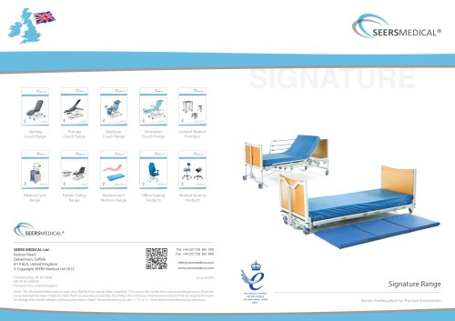 Signature Standard Bed