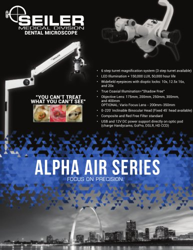AIR SERIES DENTAL MICROSCOPE