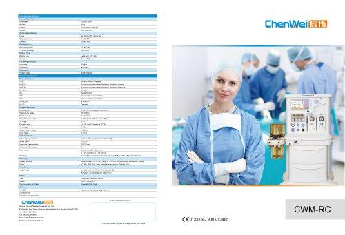 Anesthesia system CWM-RC
