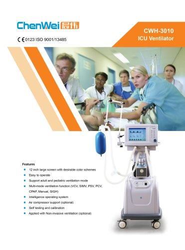 ICU Ventilator CWH-3010