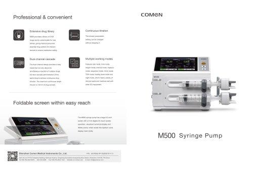 1-channel syringe pump M300/M500
